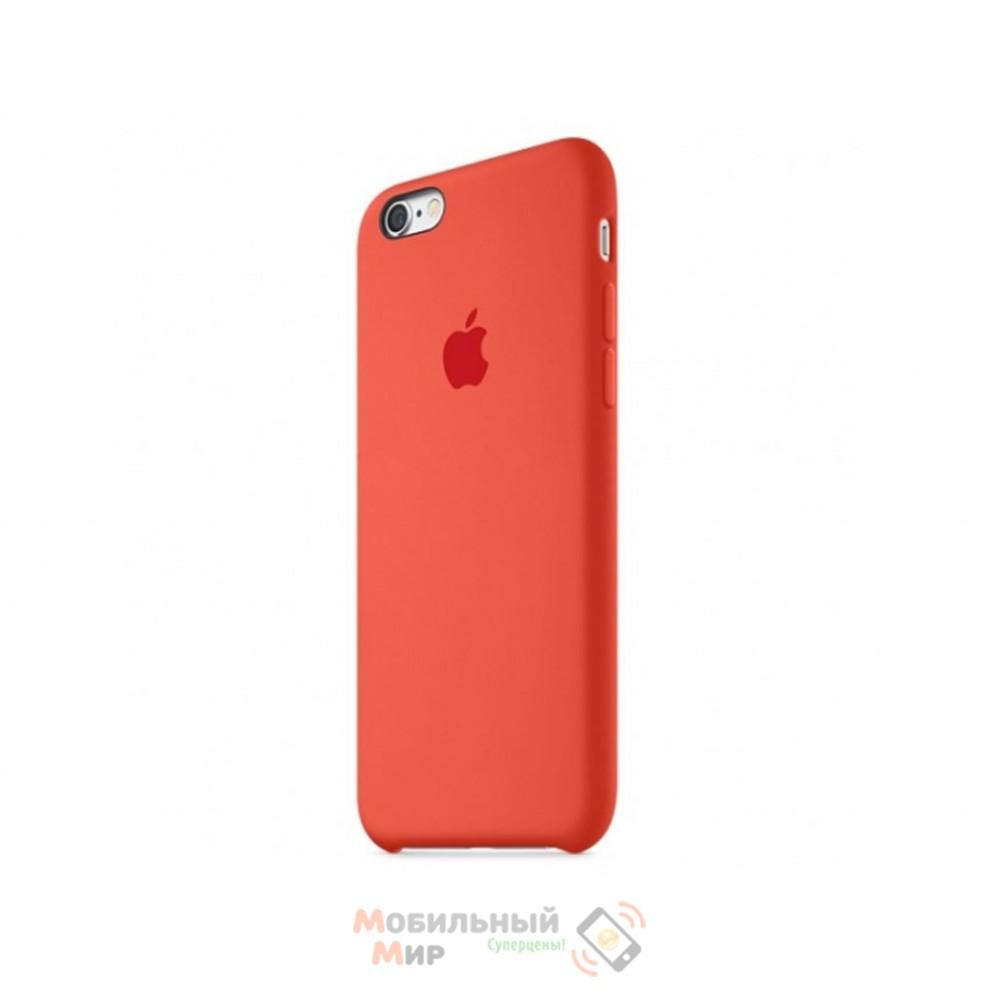 Чехол силиконовый для iPhone 6/6s Orange (MKY62ZM/A)