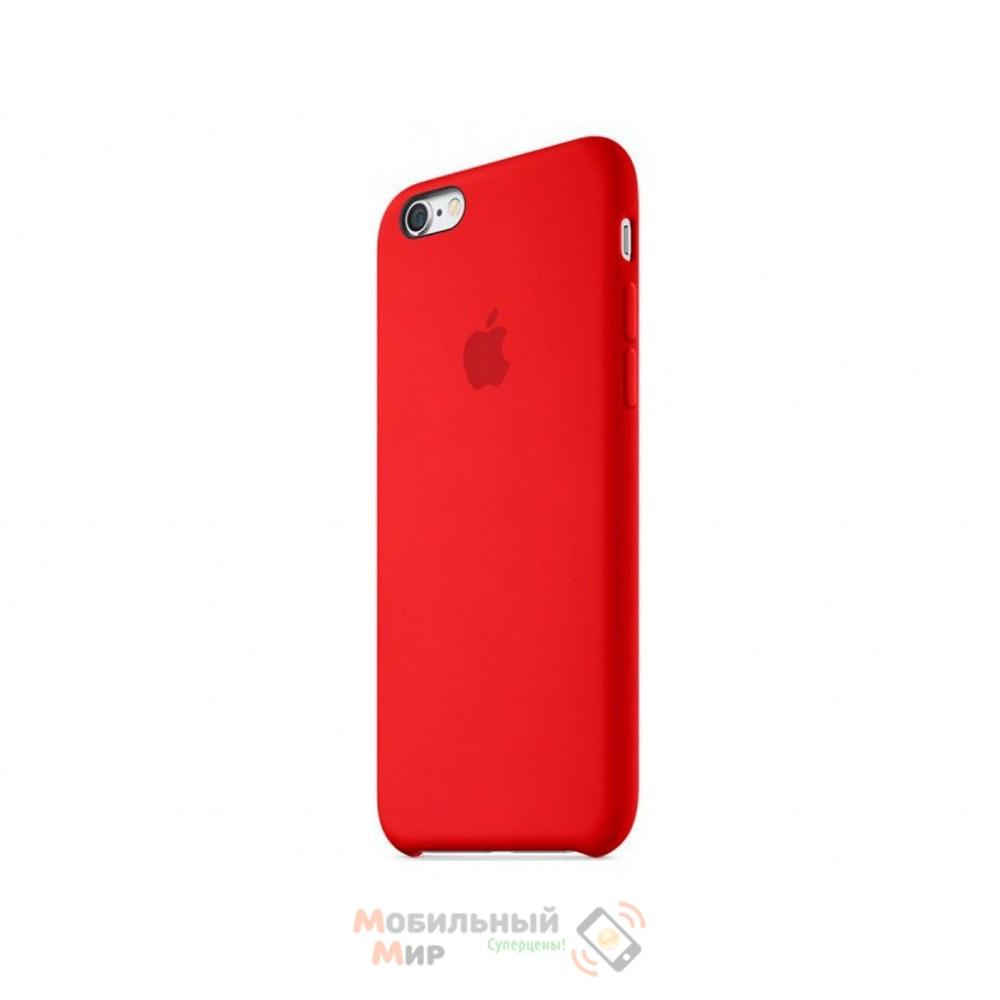 Чехол силиконовый для iPhone 6/6s RED (MKY32ZM/A)