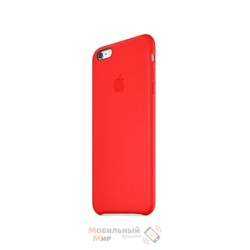 Чехол кожаный для iPhone 6 Plus/6s Plus RED (MKXG2ZM/A)