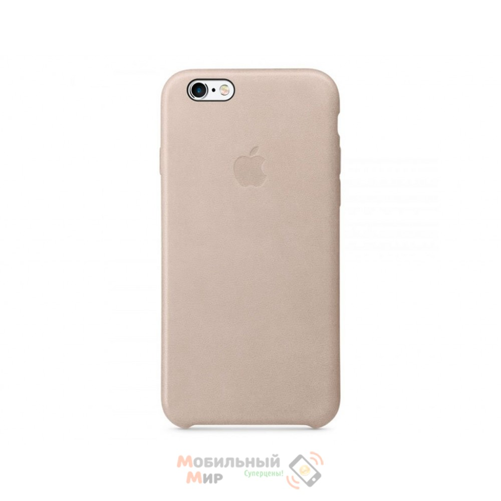 Чехол кожаный для iPhone 6 Plus/6s Plus Rose Gray (MKXE2ZM/A)