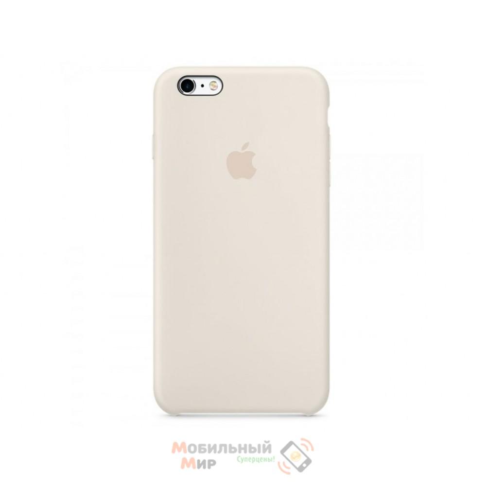 Чехол силиконовый для iPhone 6 Plus/6s Plus Antique White (MLD22ZM/A)