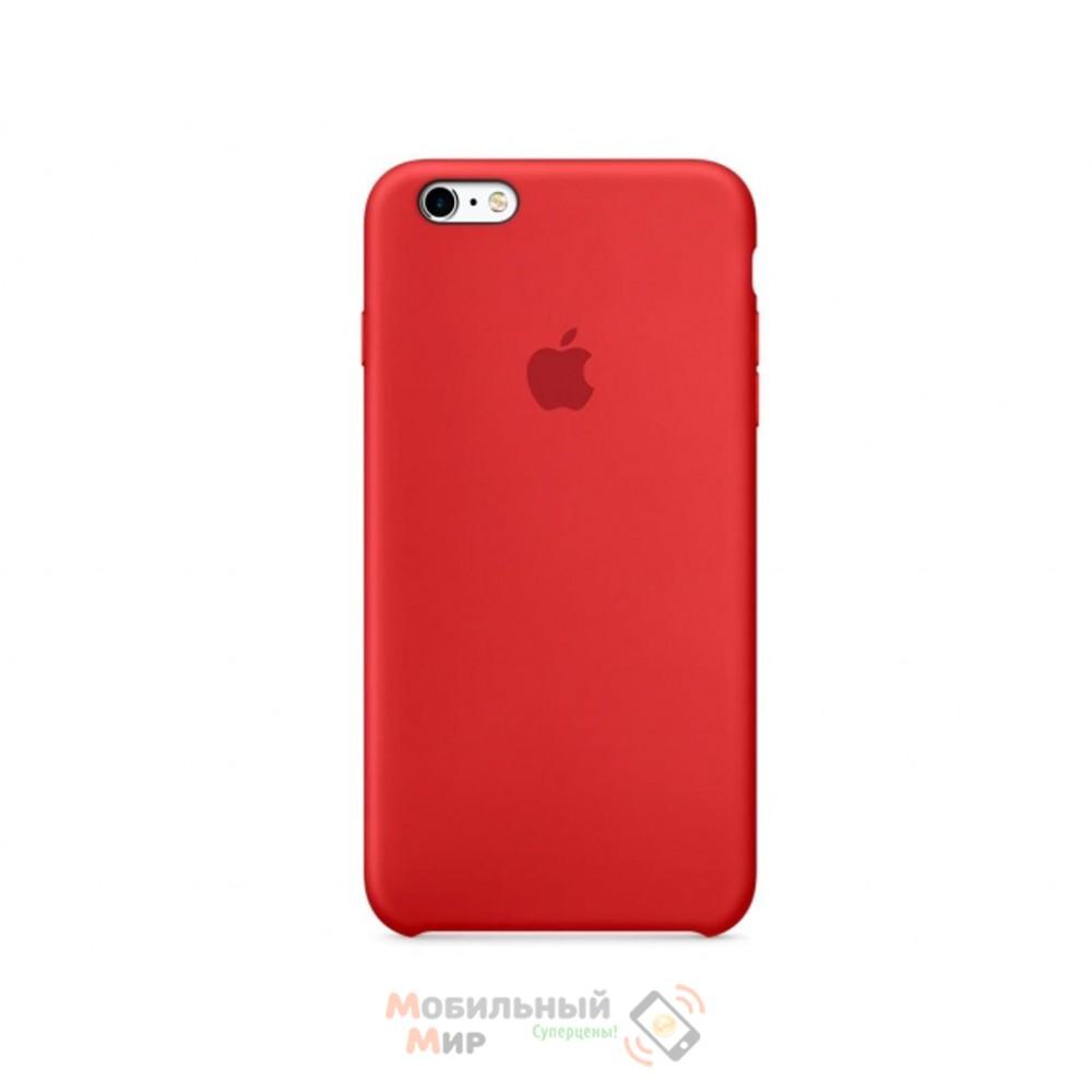 Чехол силиконовый для iPhone 6 Plus/6s Plus RED (MKXM2ZM/A)