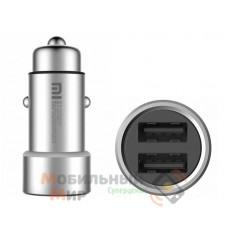Автомобильное зарядное устройство Xiaomi Mi Charger Silver