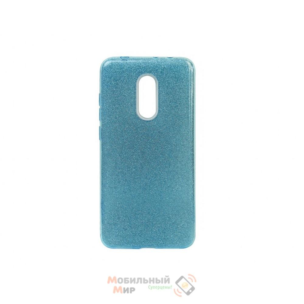 Силиконовая накладка Shine Xiaomi Redmi 5 Plus Blue