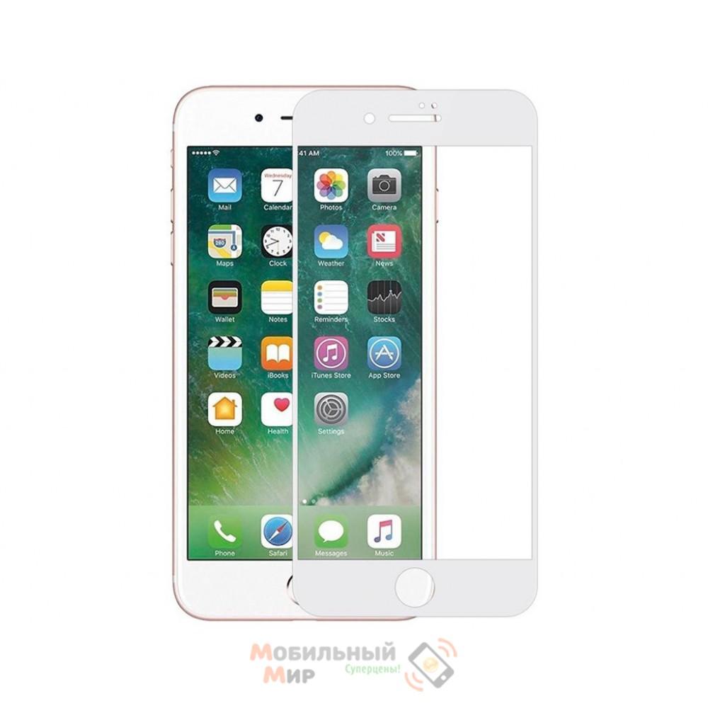 Защитное стекло iPhone 7/8 5D White