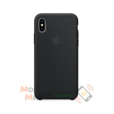 Накладка Silicone Case Original iPhone X Black