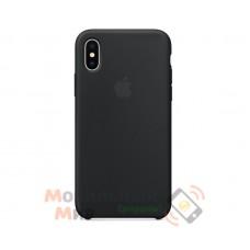 Накладка Silicone Case Original iPhone X Black