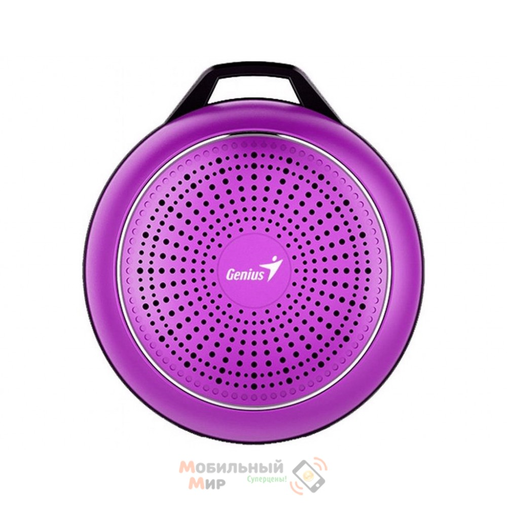 Портативная акустика Genius SP-906BT Plus Magenta