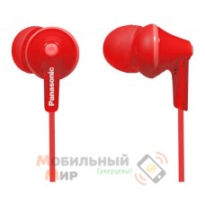 Наушники Panasonic RP-HJE125E-R Red
