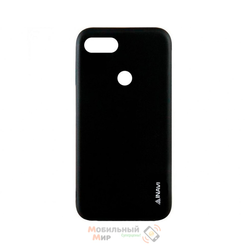Силиконовая накладка iNavi Color Xiaomi Redmi 6 Black