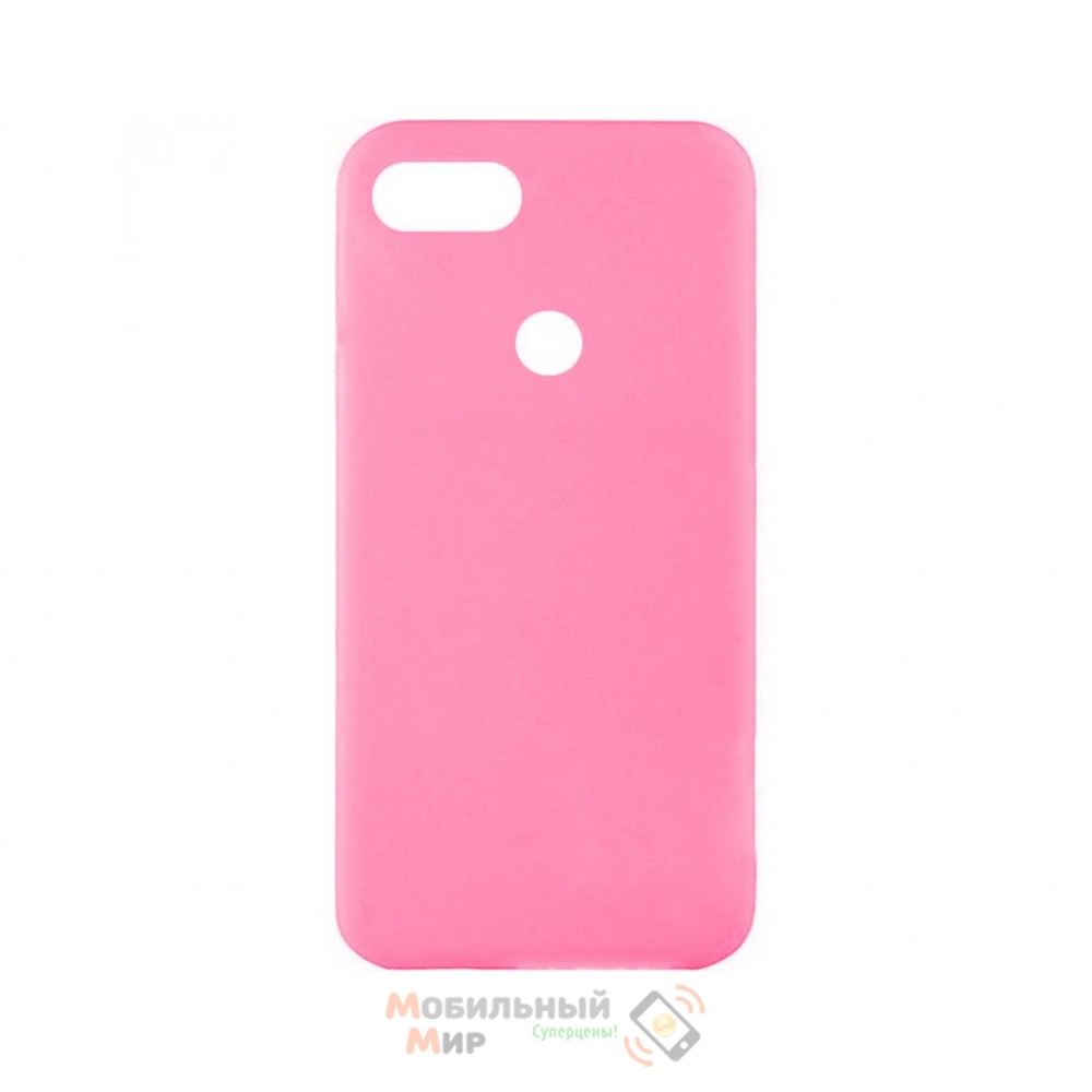 Силиконовая накладка iNavi Color Xiaomi Redmi 6 Pink