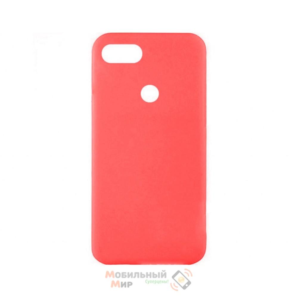 Силиконовая накладка iNavi Color Xiaomi Redmi 6 Red