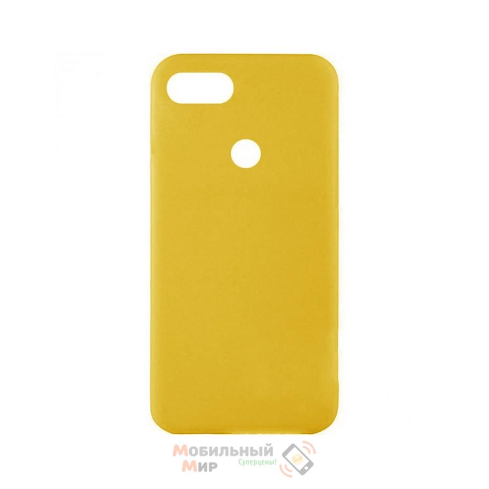 Силиконовая накладка iNavi Color Xiaomi Redmi 6 Yellow