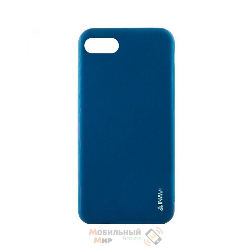 Силиконовая накладка iNavi Color Xiaomi Redmi 6A Dark Blue