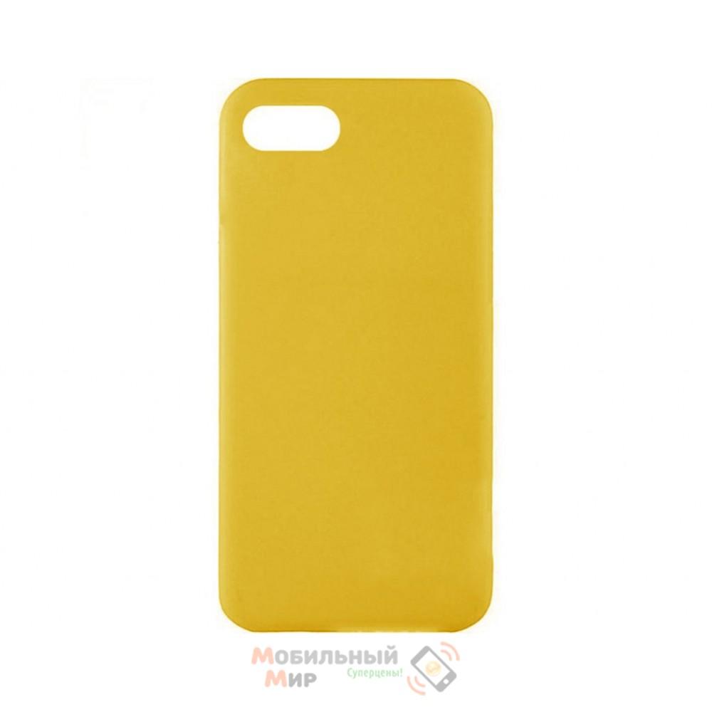 Силиконовая накладка iNavi Color Xiaomi Redmi 6A Yellow