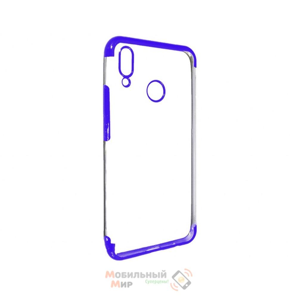 Силиконовая накладка UMKU Line для Huawei P Smart Plus Blue