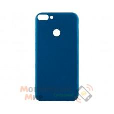 Силиконовая накладка Inavi Simple Color для Huawei P Smart Navy Blue