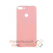 Силиконовая накладка Inavi Simple Color для Huawei P Smart Peach