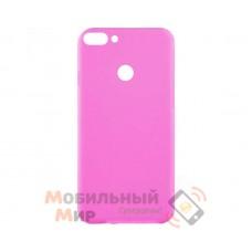 Силиконовая накладка Inavi Simple Color для Huawei P Smart Pink