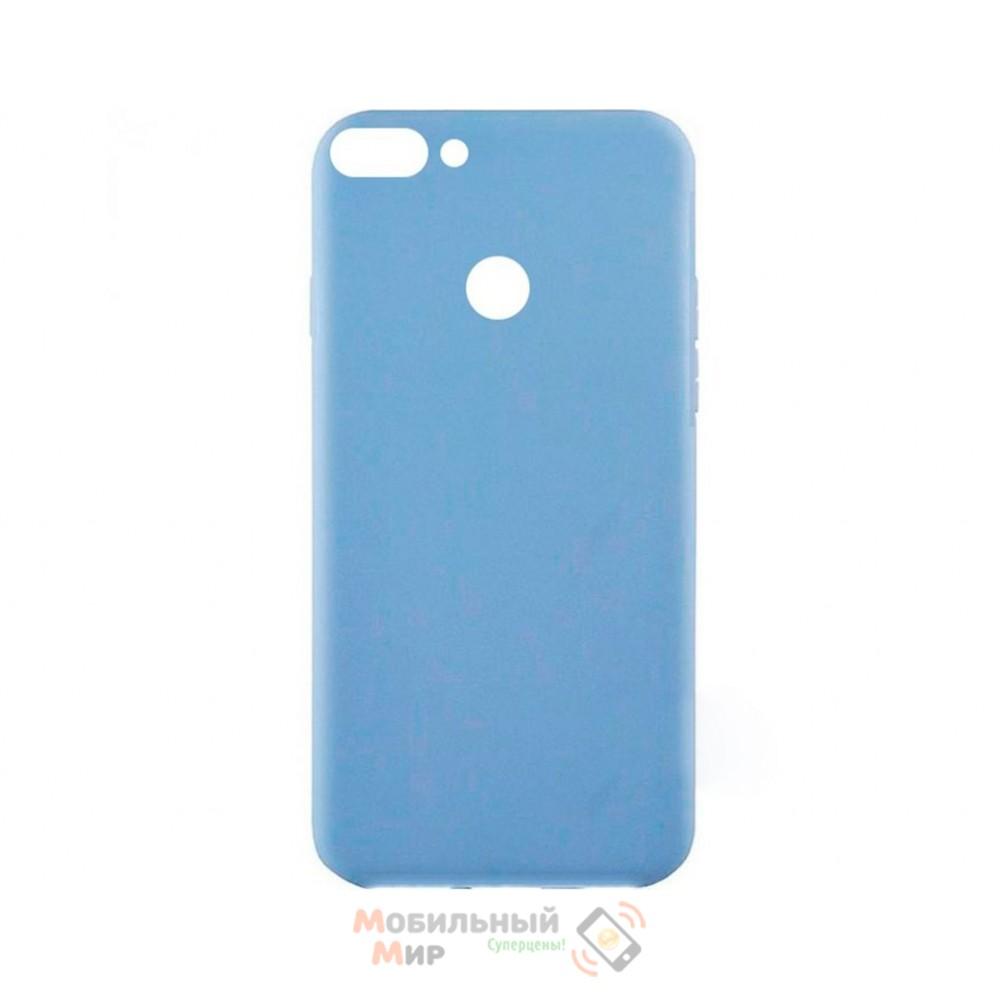 Силиконовая накладка Inavi Simple Color для Huawei P Smart Violet