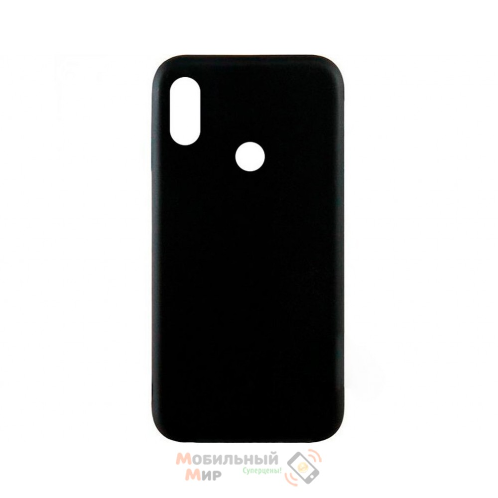 Силиконовая накладка Inavi Simple Color для Xiaomi Mi 6X/ Mi A2 Black