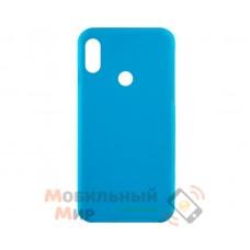 Силиконовая накладка Inavi Simple Color для Xiaomi Mi 6X/ Mi A2 Blue