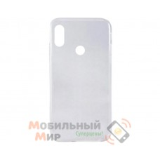 Силиконовая накладка Inavi Simple Color для Xiaomi Mi 6X/ Mi A2 Transparent