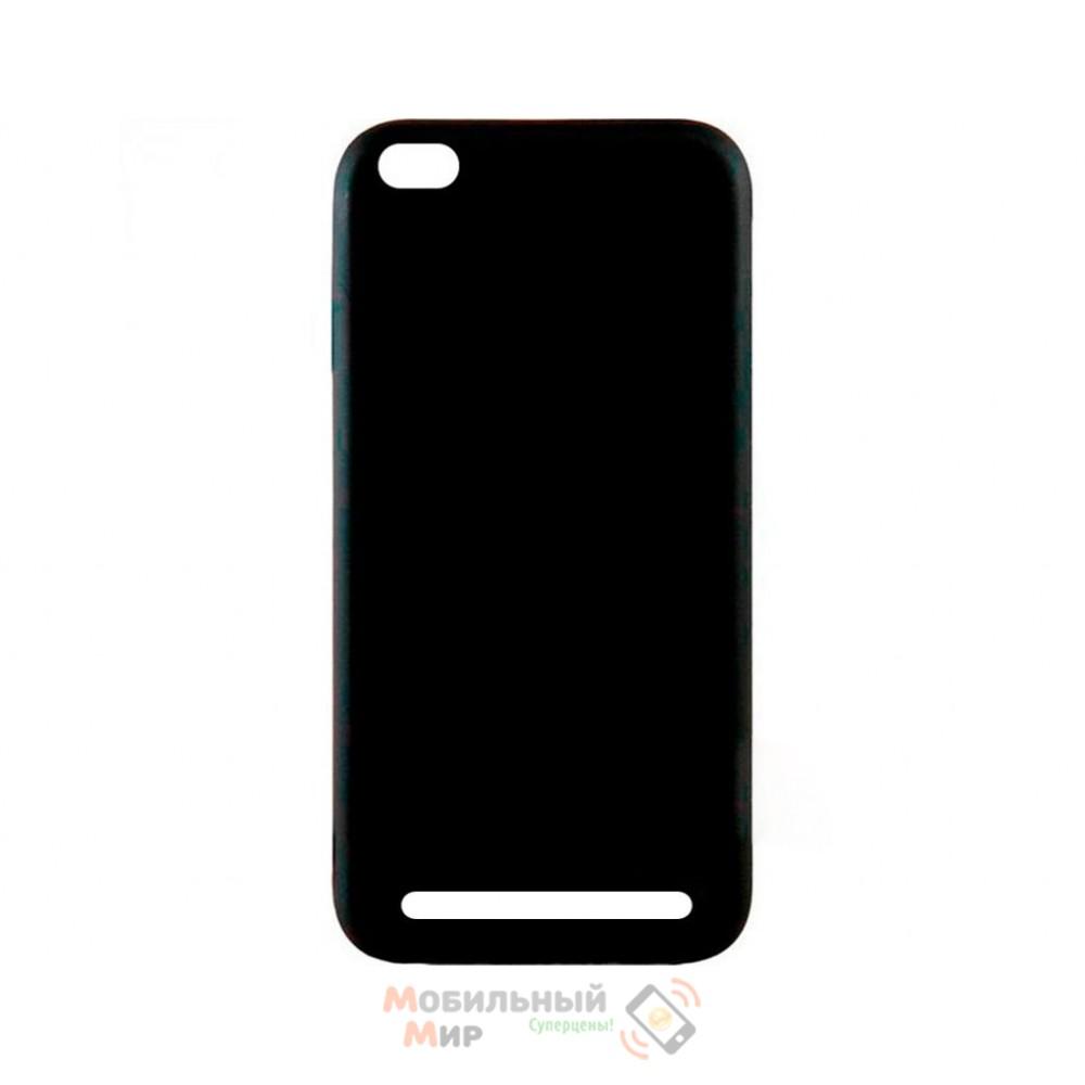 Силиконовая накладка Inavi Simple Color для Xiaomi Redmi 5A Black