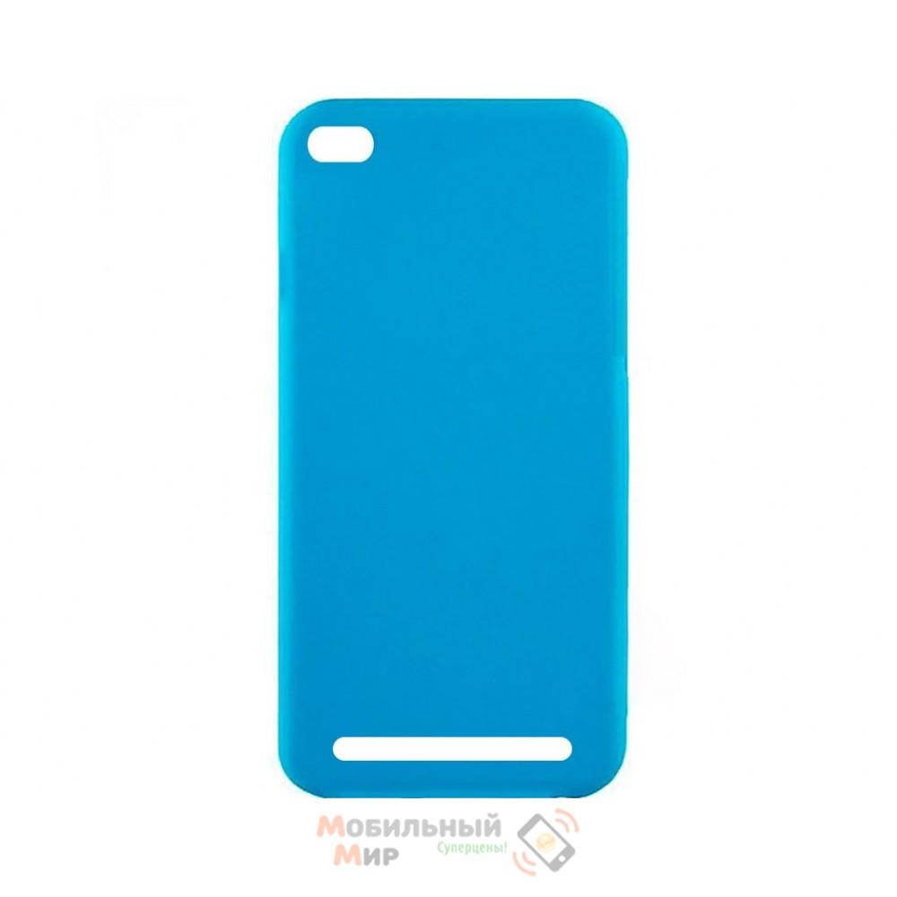 Силиконовая накладка Inavi Simple Color для Xiaomi Redmi 5A Blue
