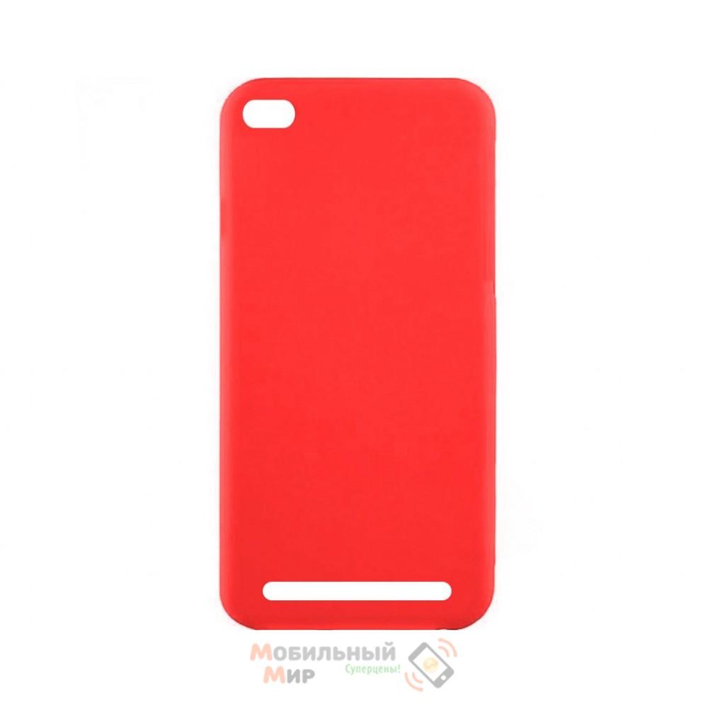Силиконовая накладка Inavi Simple Color для Xiaomi Redmi 5A Red