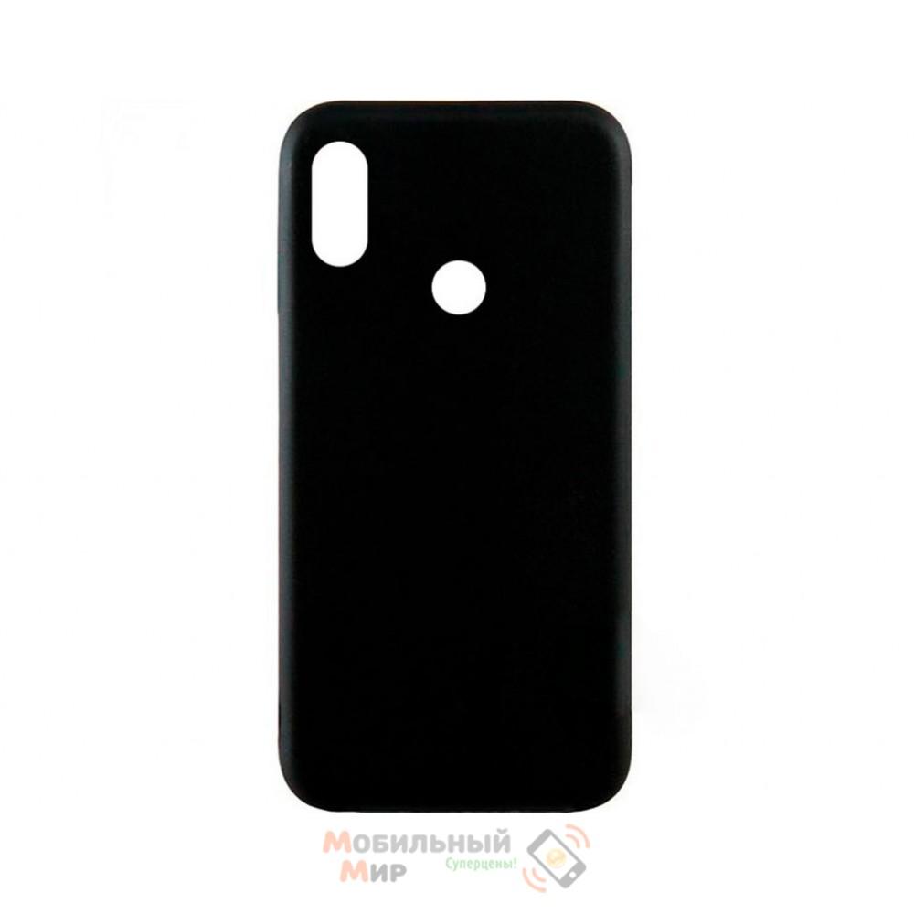 Силиконовая накладка Inavi Simple Color для Xiaomi Redmi 6 Pro/ Mi A2 Lite Black