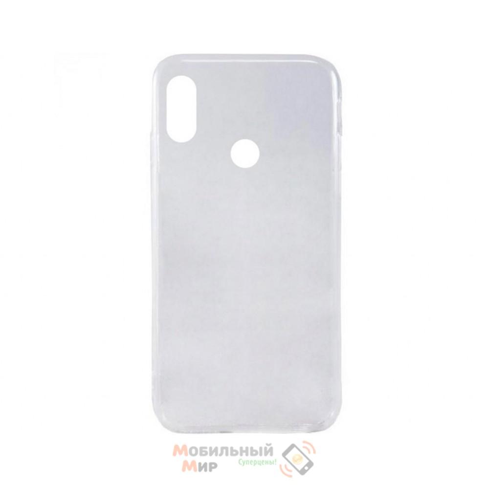 Силиконовая накладка Inavi Simple Color для Xiaomi Redmi 6 Pro/ Mi A2 Lite Transparent