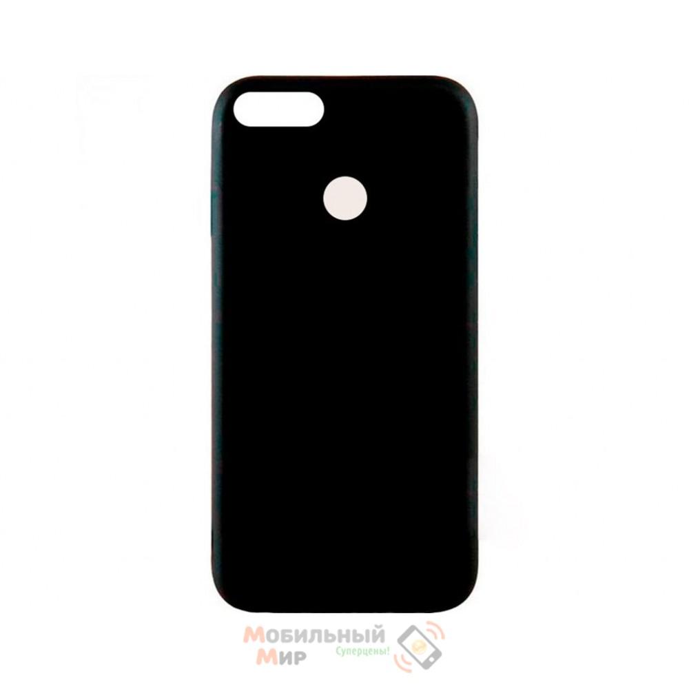 Силиконовая накладка Inavi Simple Color для Xiaomi Redmi Mi 5X/ Mi A1 Black