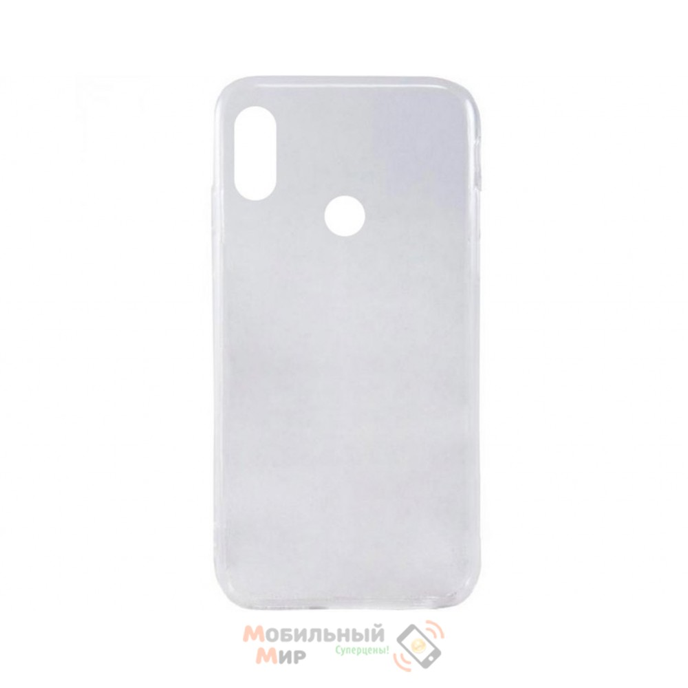 Силиконовая накладка Inavi Simple Color для Xiaomi Redmi Note 5/ Note 5 Pro Transparent