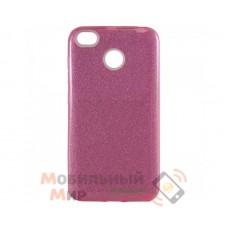 Силиконовая накладка Shine для Huawei P Smart Pink