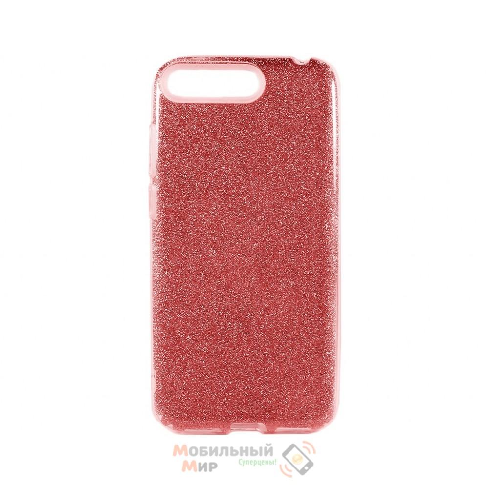 Силиконовая накладка Shine для Huawei Y6 Prime 2018 Red