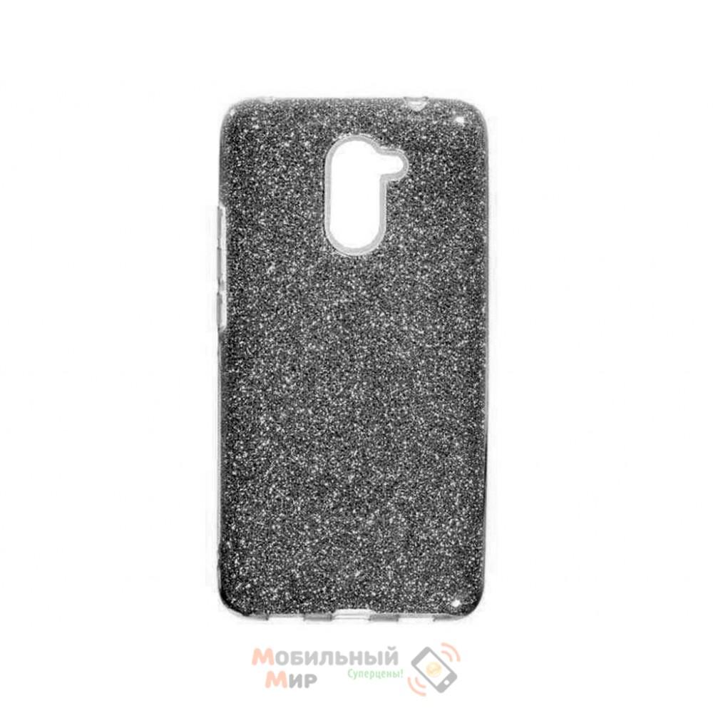 Силиконовая накладка Shine для Huawei Y7 Prime 2018 Black