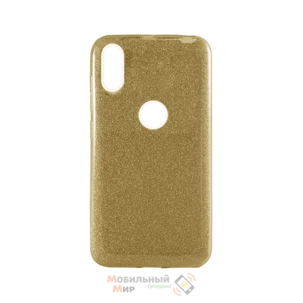 Силиконовая накладка Shine для Xiaomi Redmi Note 5/ Note 5 Pro Gold