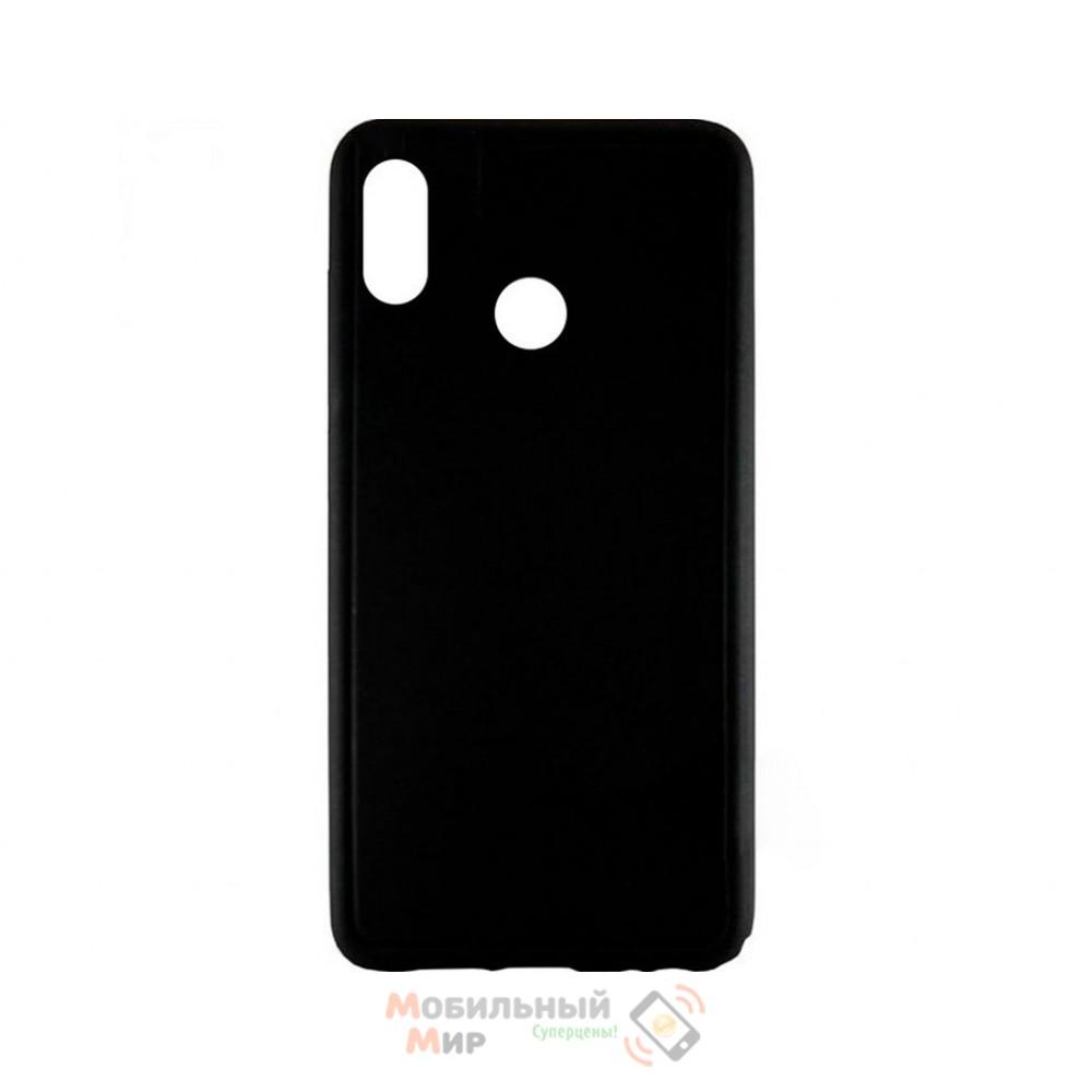 Силиконовая накладка Graphite Huawei P Smart Plus Black