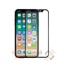 Защитное стекло Japan HD iPhone X 5D Black