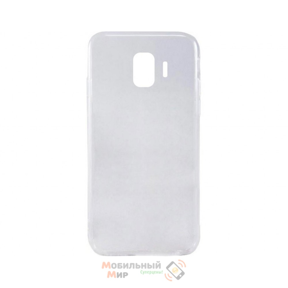 Силиконовая накладка iNavi Simple Color для Samsung J2 2018 J250 Transparent