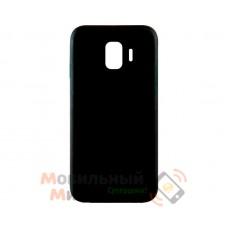 Силиконовая накладка iNavi Simple Color для Samsung J4 2018 J400 Black