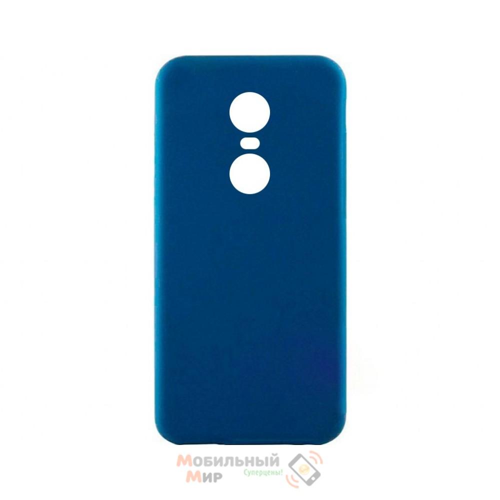 Силиконовая накладка iNavi Simple Color для Xiaomi Redmi 5 Midnight Blue