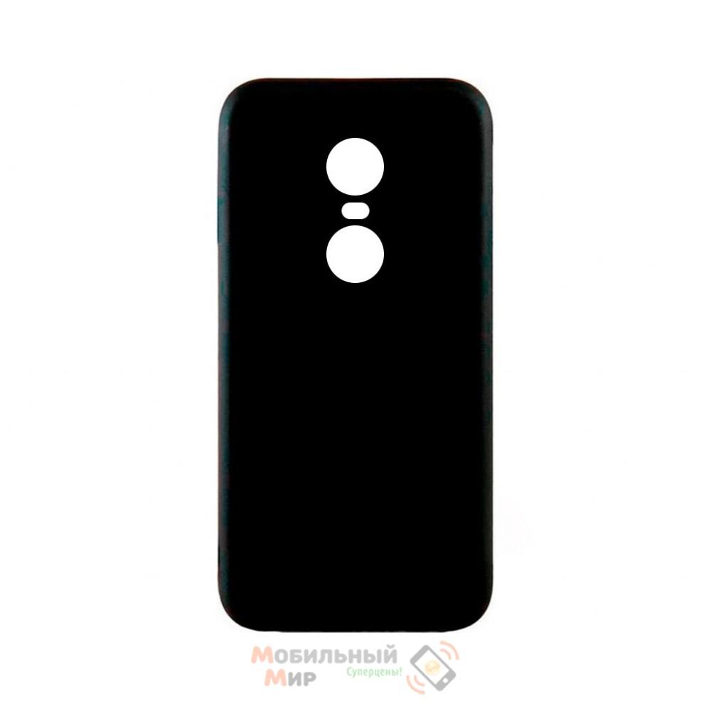 Силиконовая накладка iNavi Simple Color для Xiaomi Redmi 5 Plus Black
