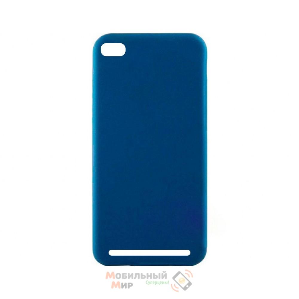 Силиконовая накладка Inavi Simple Color для Xiaomi Redmi 5A Midnight Blue