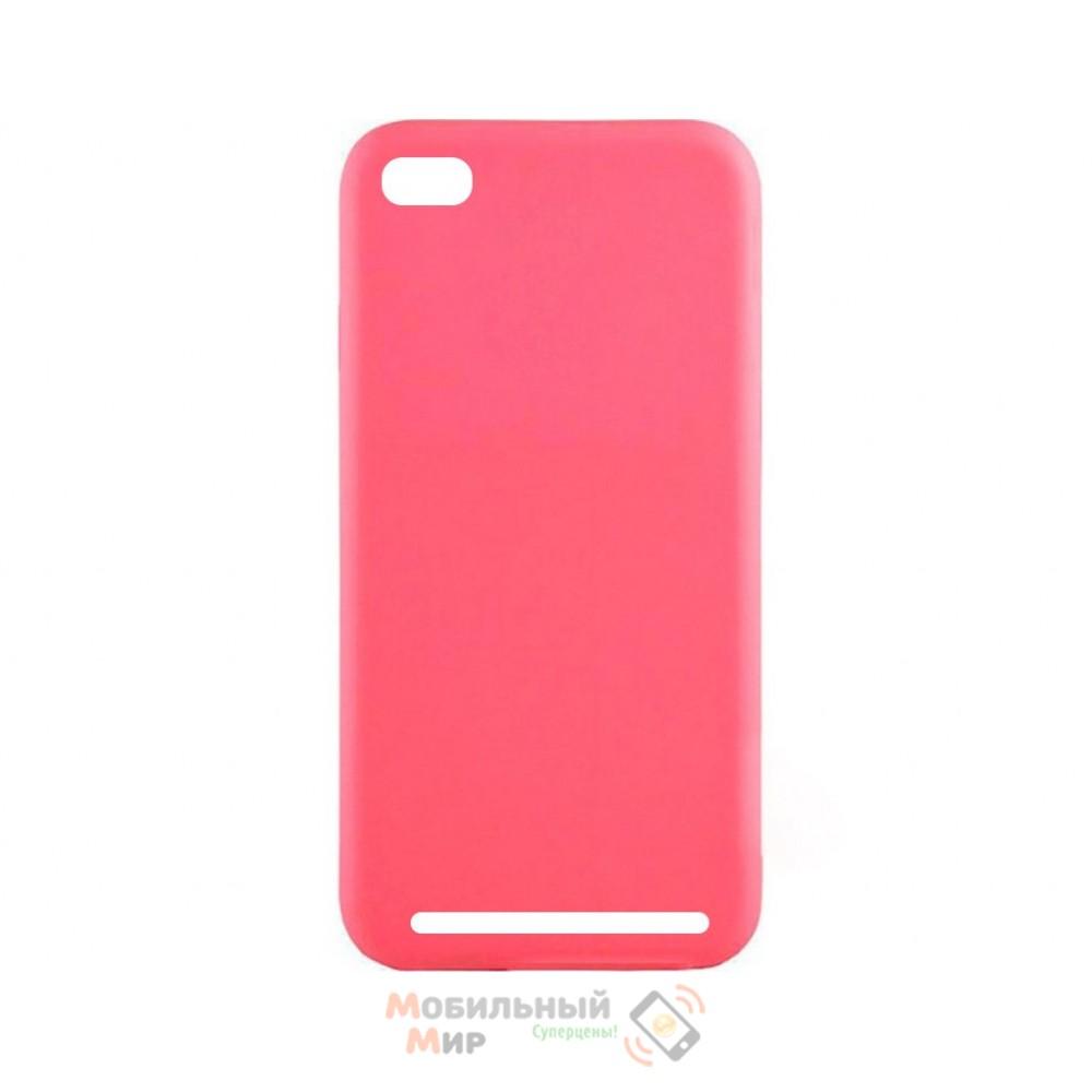 Силиконовая накладка Inavi Simple Color для Xiaomi Redmi 5A Pink