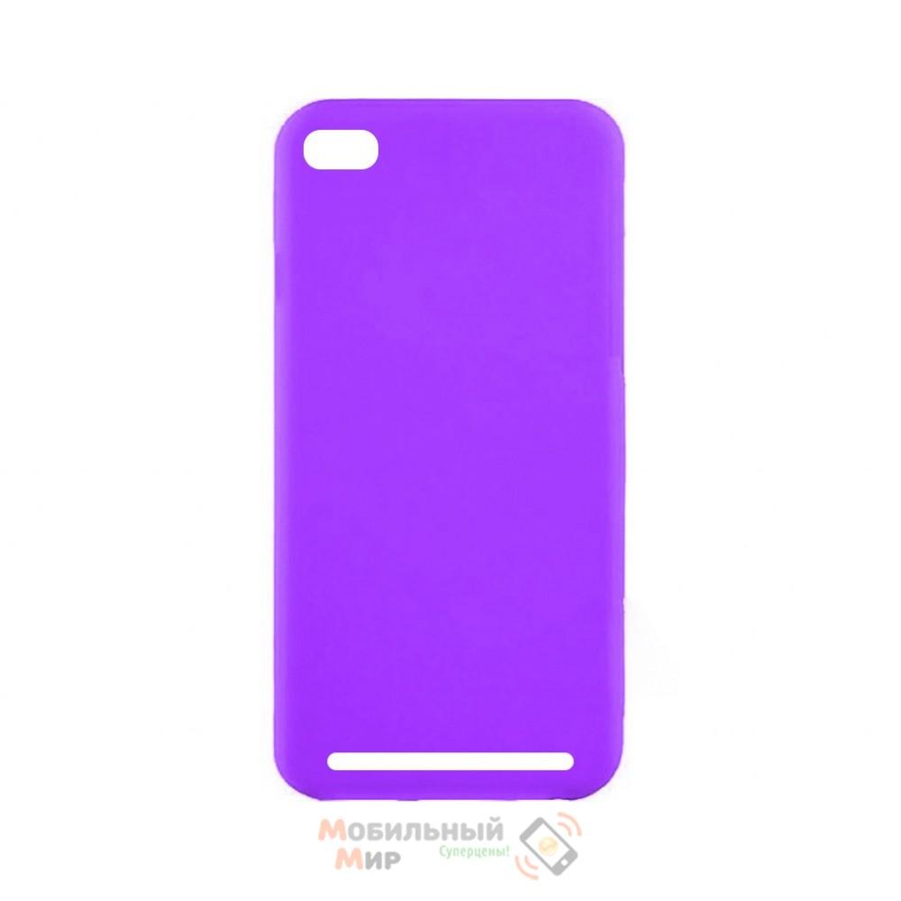 Силиконовая накладка Inavi Simple Color для Xiaomi Redmi 5A Violet