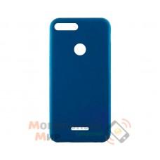 Силиконовая накладка iNavi Simple Color для Xiaomi Redmi 6 Midnight Blue