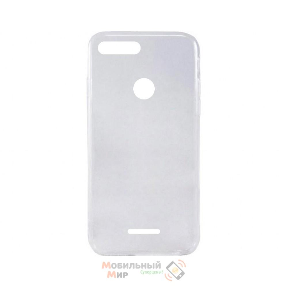 Силиконовая накладка iNavi Simple Color для Xiaomi Redmi 6 Transparent