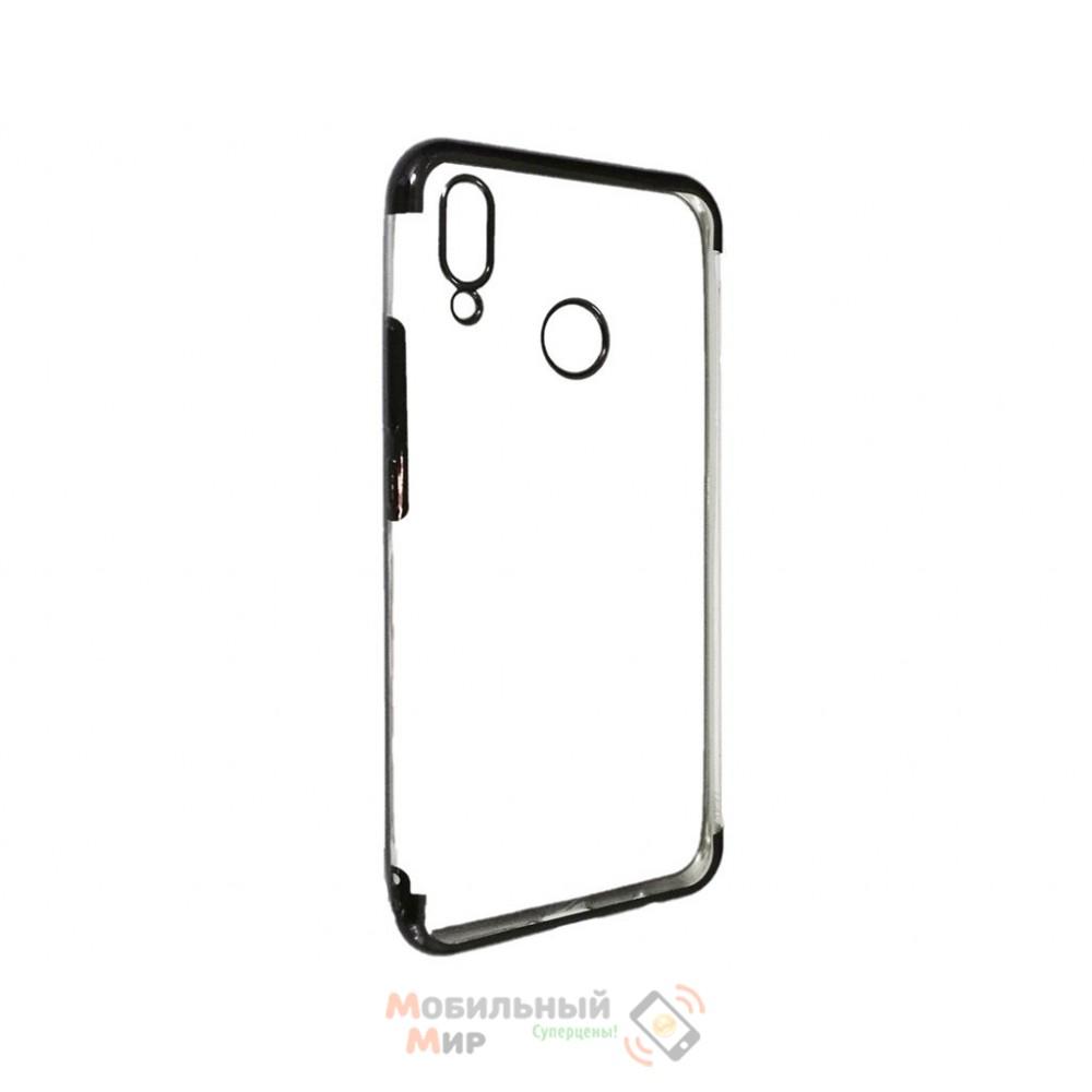Силиконовая накладка UMKU Line для Huawei P Smart 2019 Black